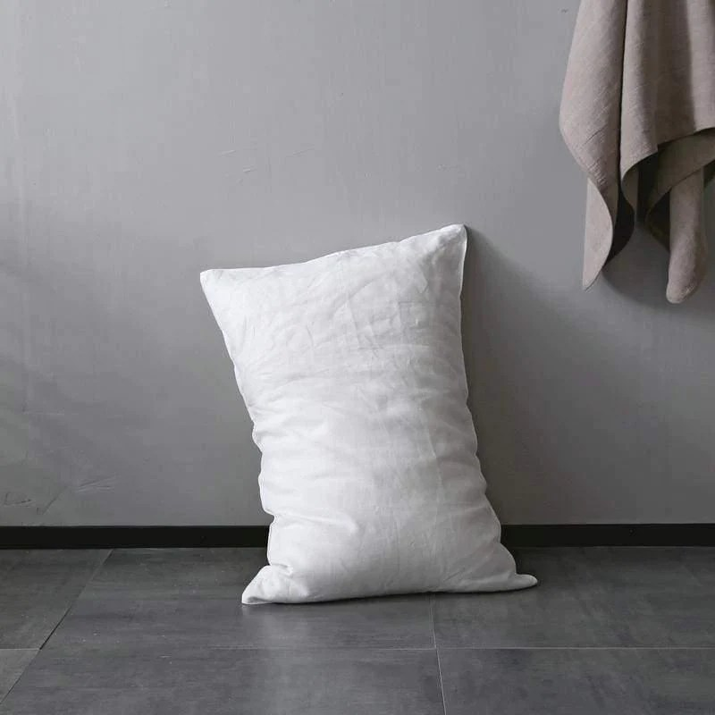 organic belgian linen simple pillow covers standard queen king sizes in 15 colors