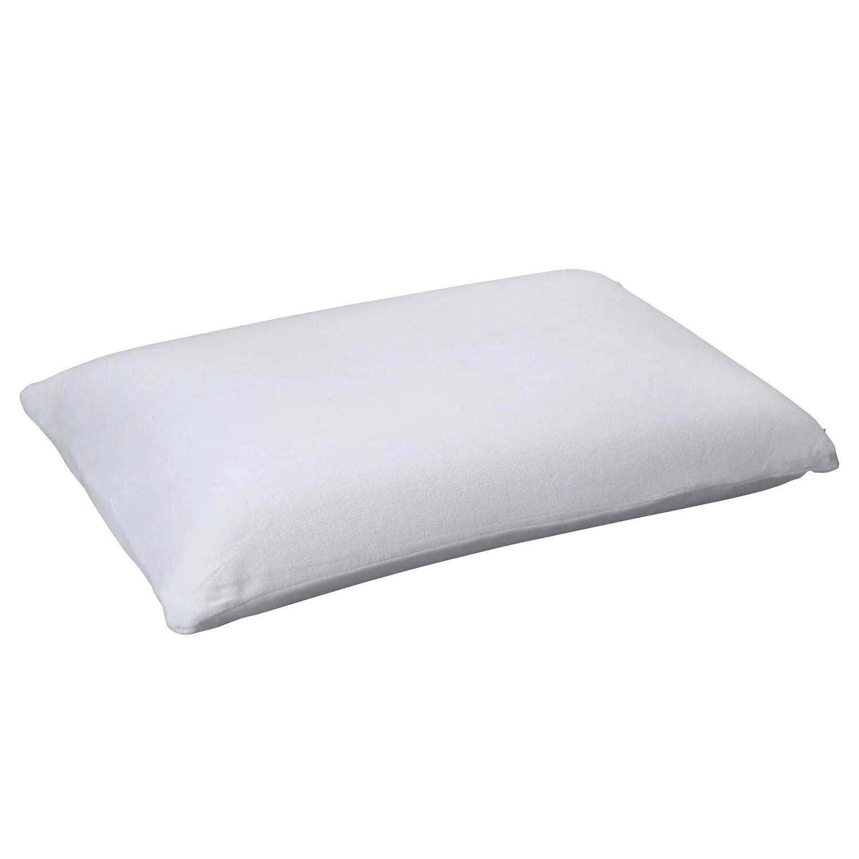 sleep easy medium profile medium feel talalay latex pillow