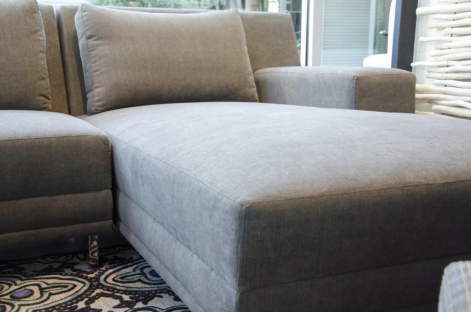 crypton fabric for sofas chaise lounge recliner sofa the piazza sectional by lazar industries in five elements furniture