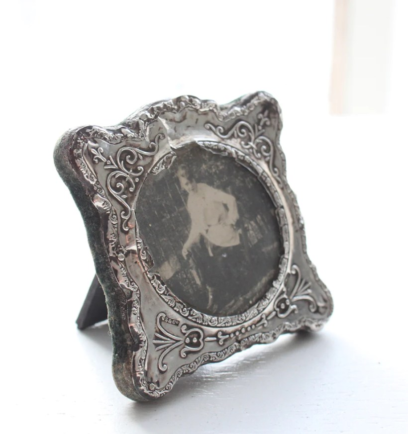 Antique Sterling Silver Picture Frames Amtframe