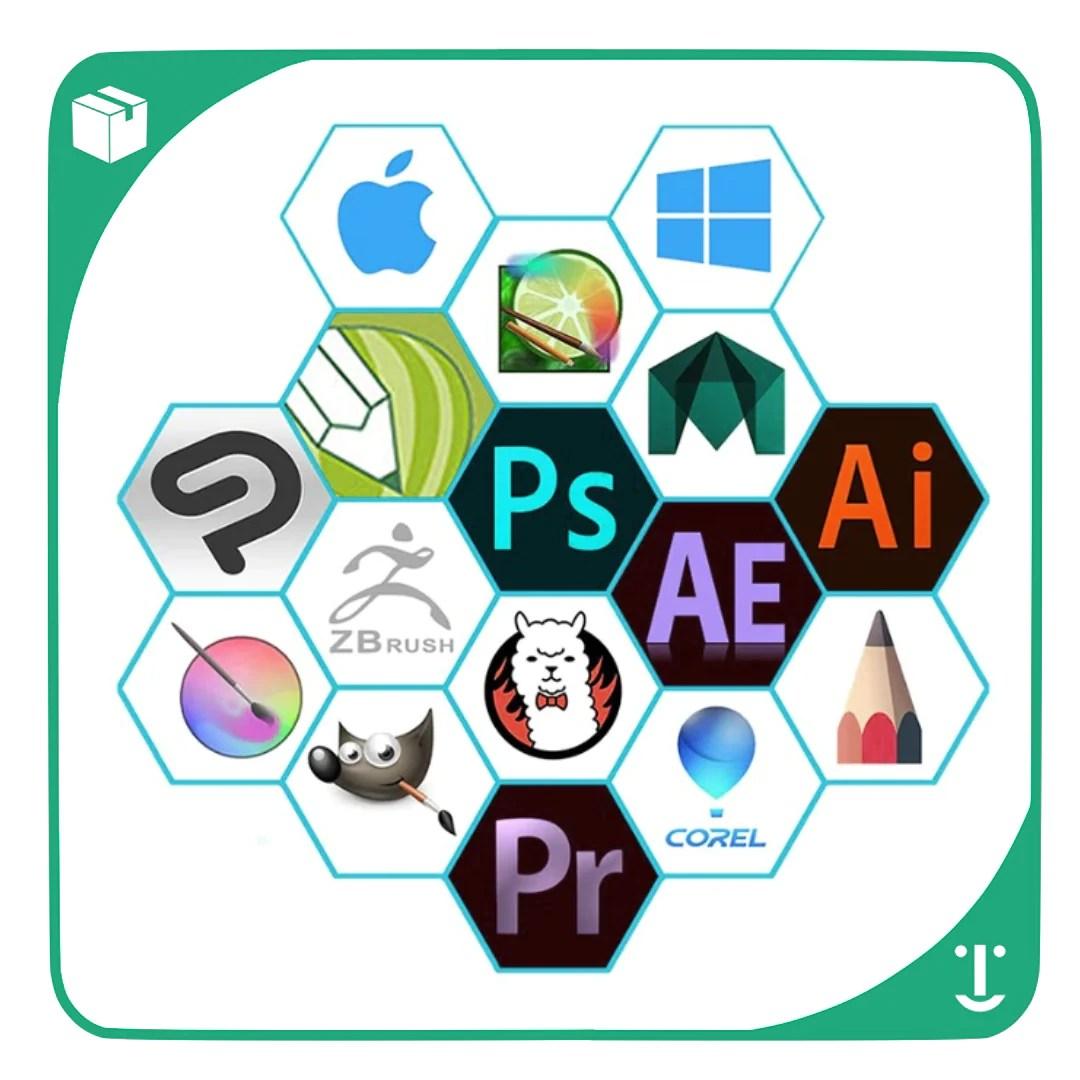 PROGRAMAS COMPATIVEIS COM A Mesa Digitalizadora Profissional : GAOMON S620