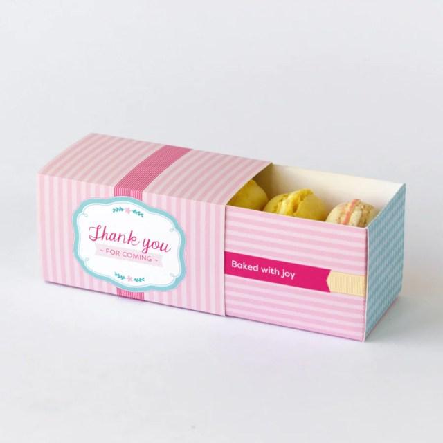 Macaron packaging suplies