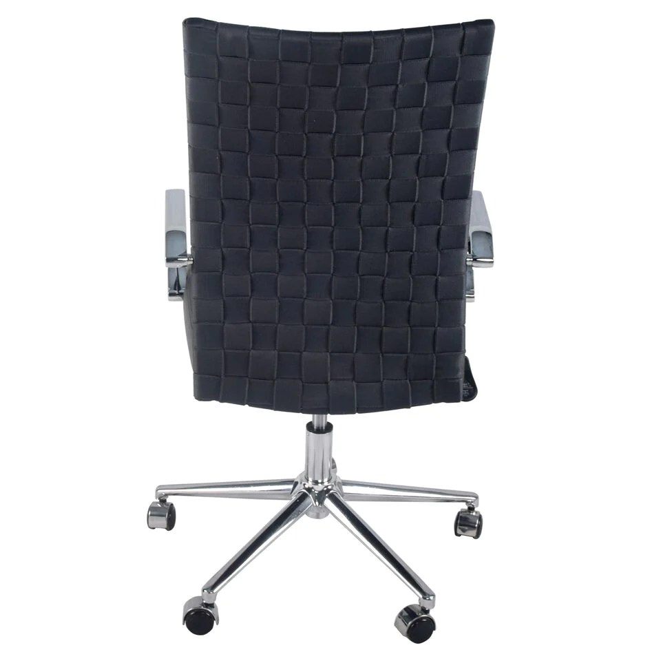 Comfy Office Chairs Comfy Gray Woven Office Chair W Arms Computerdesk
