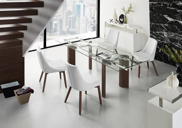 Modern Glass Conference Table or Executive Desk with