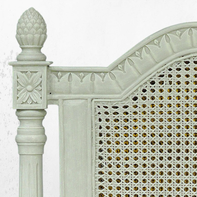 French Cane Bed & Headboards Victoria