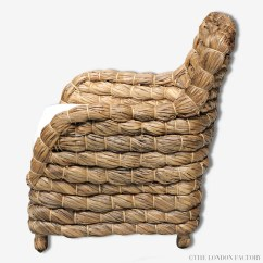 Banana Leaf Rocking Chair Most Comfortable Seagrass Wicker Occasional Arm  The