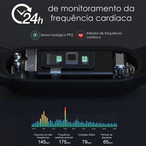 Smartwatch Mi Band 5 2021 Relógio Digital – Genial Ofertas