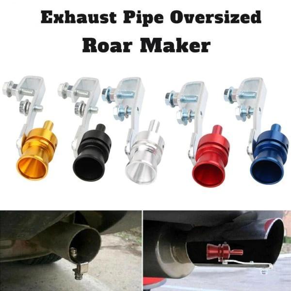exhaust pipe oversized roar maker