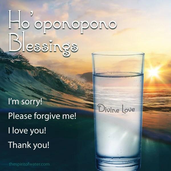 Hooponopono Blessings Bring Waves of Healing  The Spirit