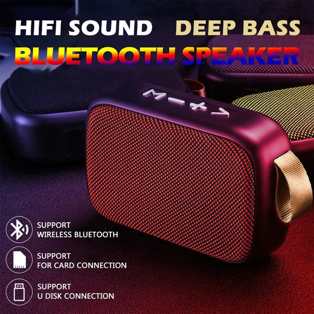 G2 Mini Bluetooth Speaker Stereo Soundbox Bass Tekk Mart