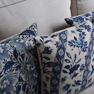 https www homesy ch products vintage blue floral pillow case cushion cover decorative throw pillows cover 45x45cm 30x50cm