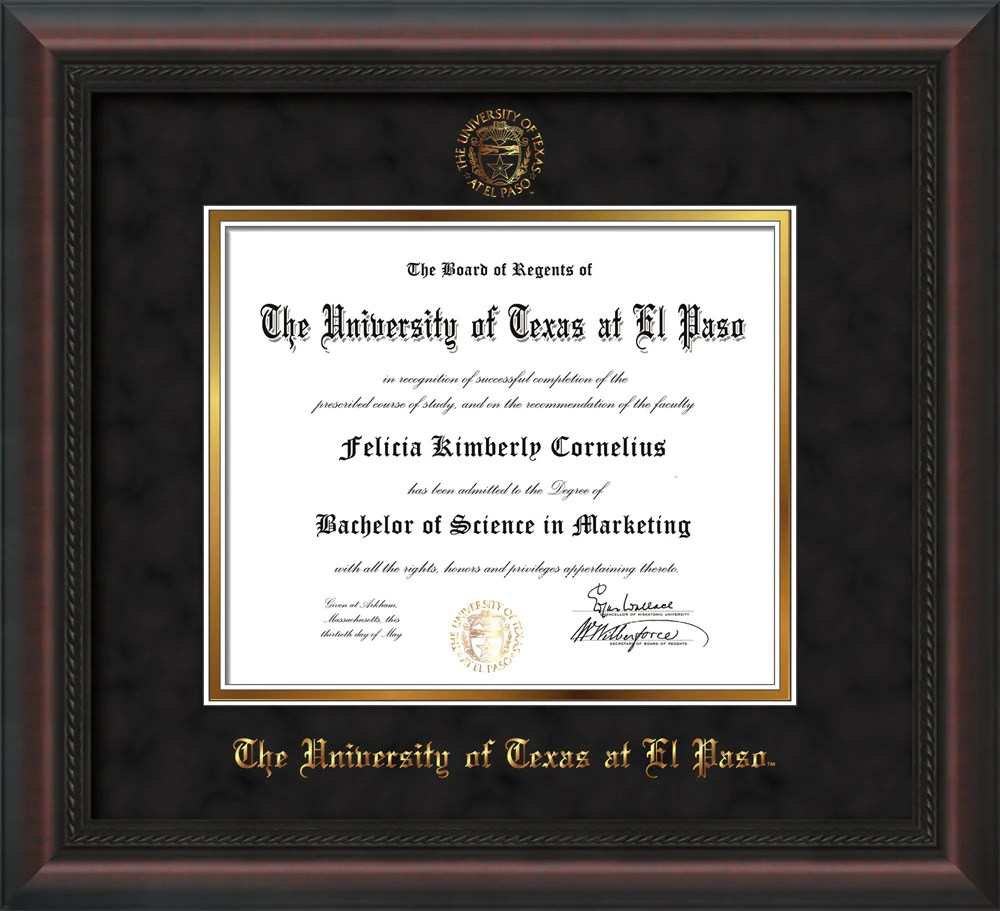Enchanting University Of Illinois Diploma Frame Mold - Framed Art ...
