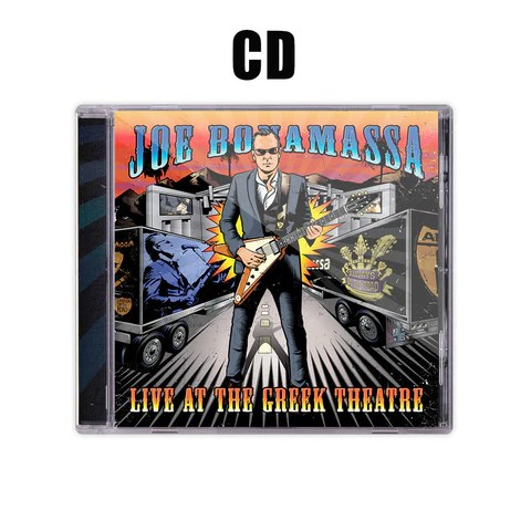Live at the Greek Theatre CD & T-Shirt Package ***PRE-ORDER***