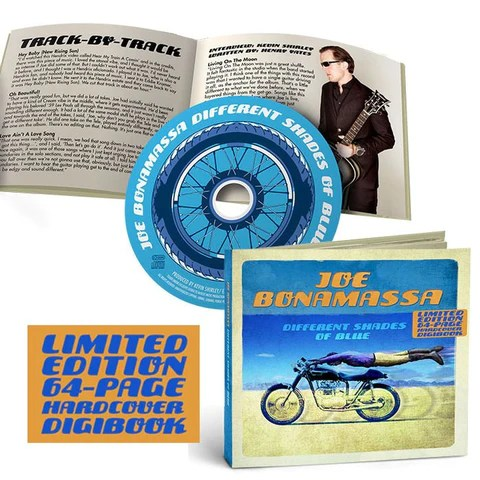Different Shades of Blue Deluxe Edition - DIGI BOOK w/ CD