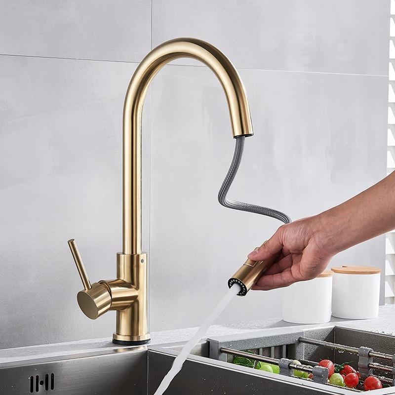 modern touch faucet