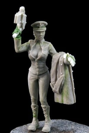 Alexandra Female commissar * another world miniatures *