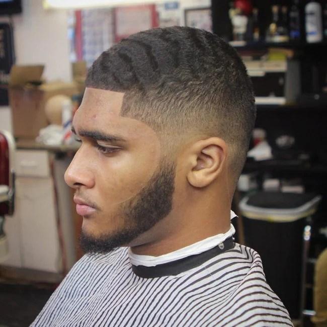 top 100 coiffures homme noir coupe de