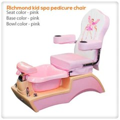 child pedicure chair kohls rocking cushion set kids spas spa chairs lee nail supply richmond kid