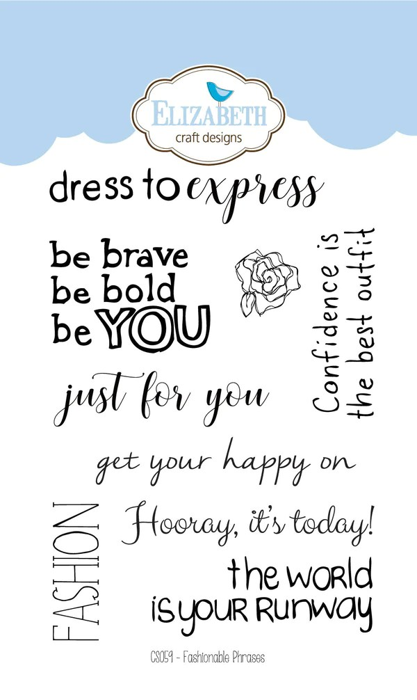 Fashion Phrases : fashion, phrases, Fashionable, Phrases, Clear, Stamps, Wholesale