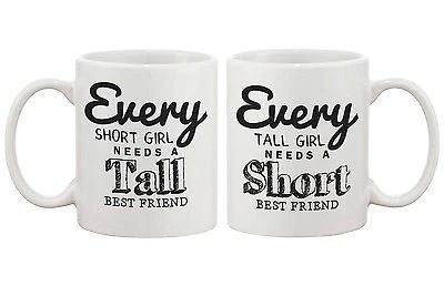 Cute Bff Matching Coffee Mugs Every Short Girl Needs A