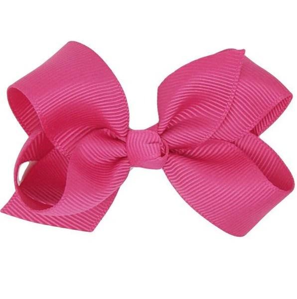 reid fuchsia baby girl hair bow