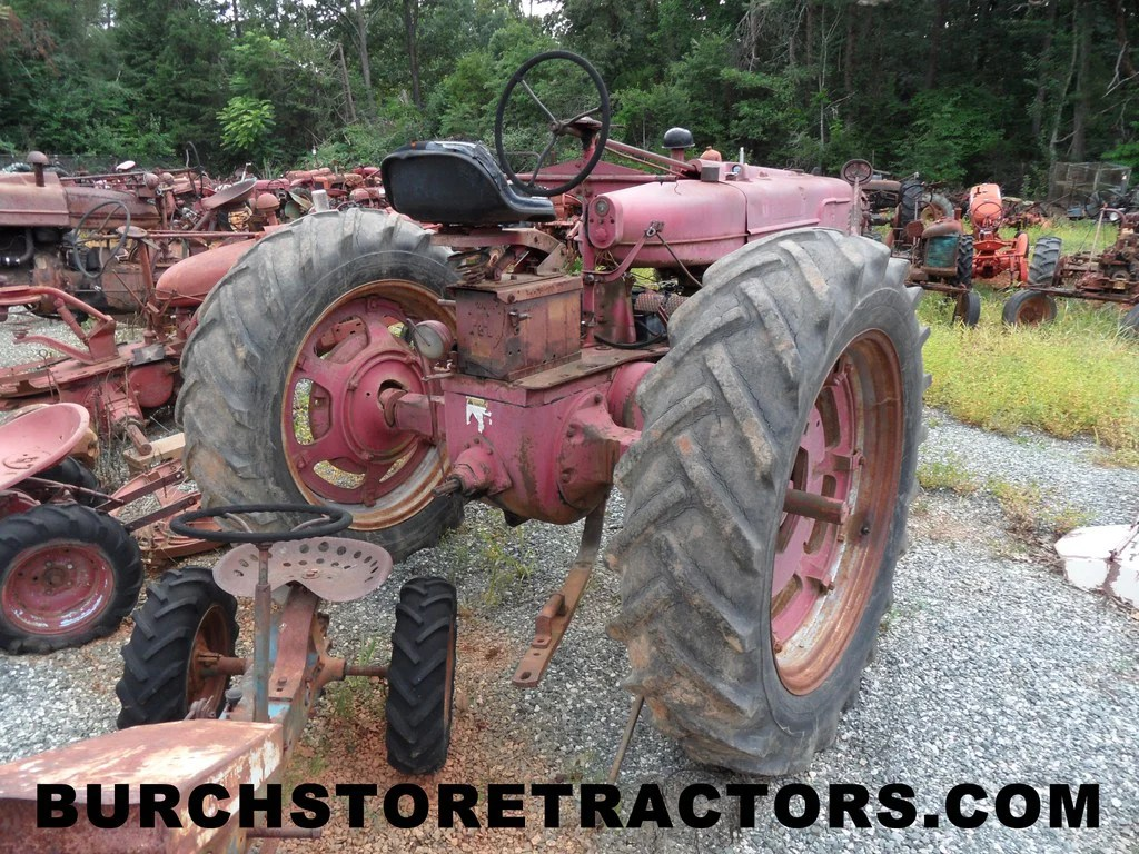 medium resolution of  farmall m tractor for salvage parts