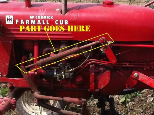 Wiring Diagram For Farmall Super C Tractor Pair Of Front Cultivator Spring Lift Arms For Farmall Cub