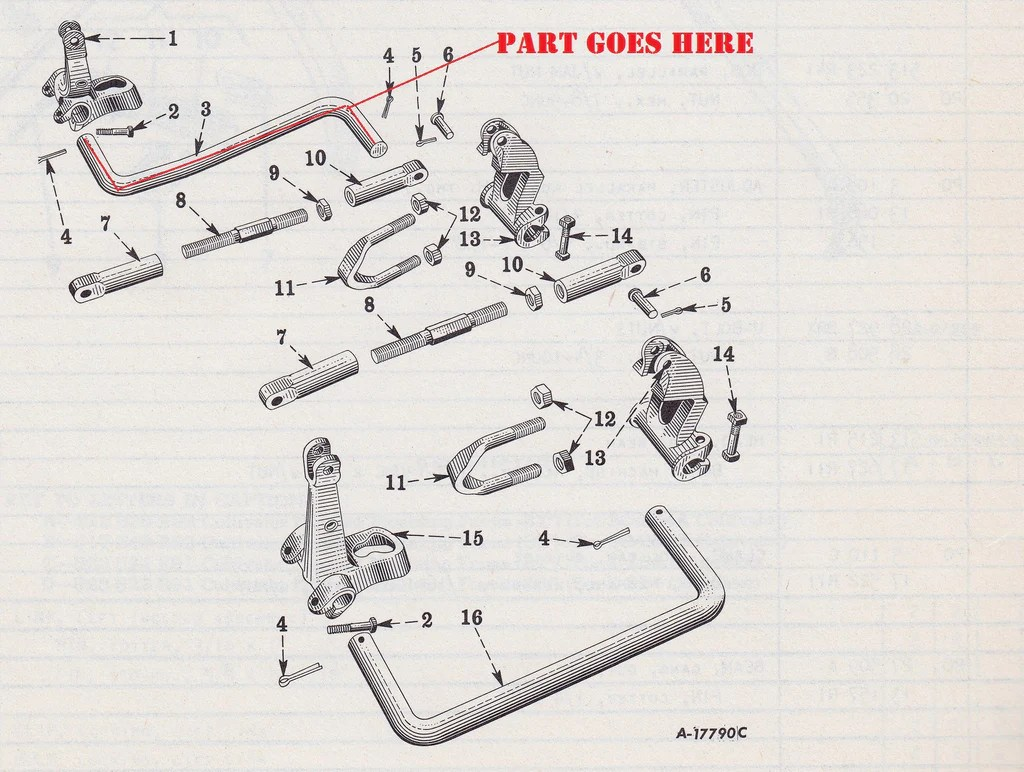 1951 farmall m wiring diagram 2001 dodge ram 3500 front cultivator gang beam for c and super