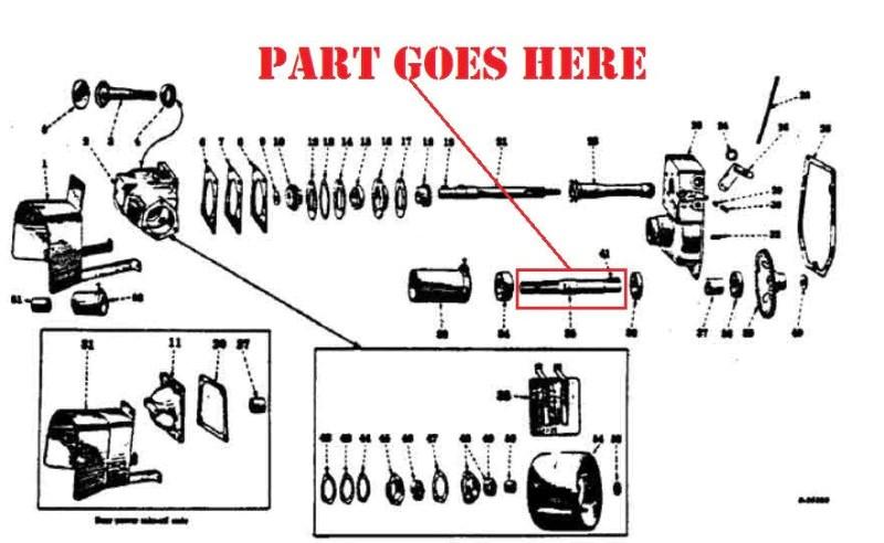 PTO Shaft for Farmall 100, 130, 140, 240, A, B, C, Super A, Super C, 2 – Burch Store Tractors