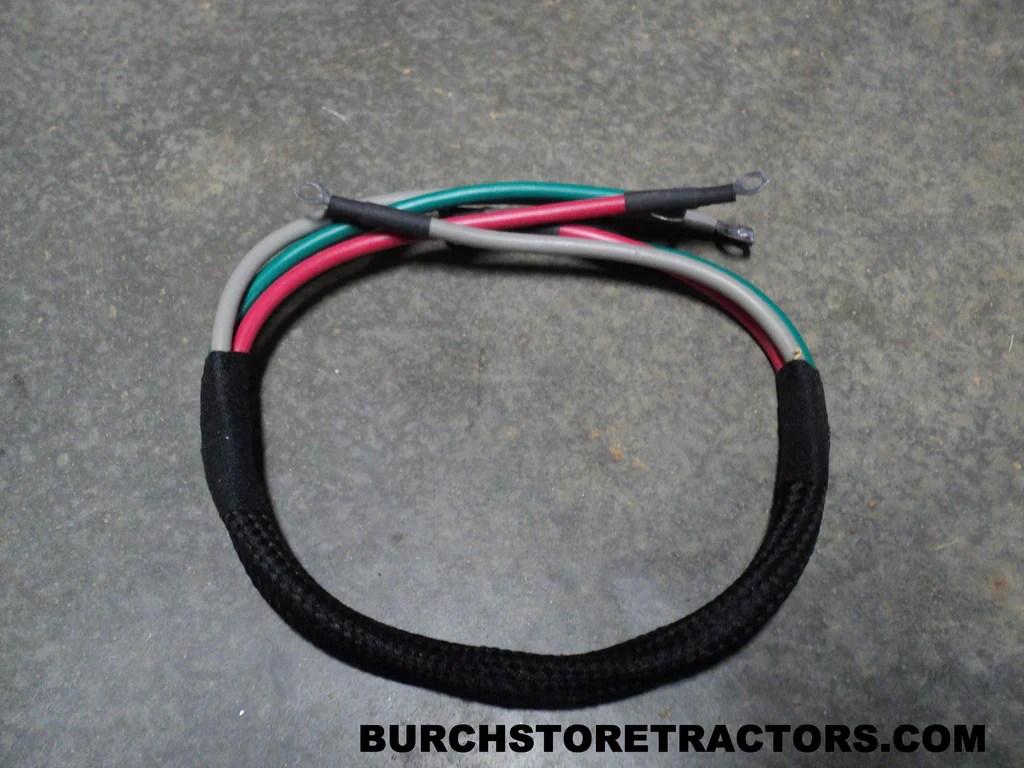 medium resolution of regulator cable harness for farmall m tractors 354297r91