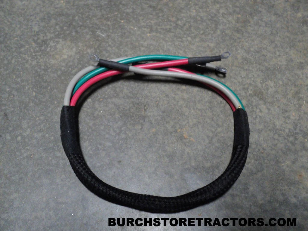 hight resolution of regulator cable harness for farmall m tractors 354297r91