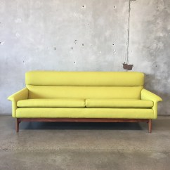 Dux Sofa By Folke Ohlsson Copper Table Vintage Mid Century Designed For