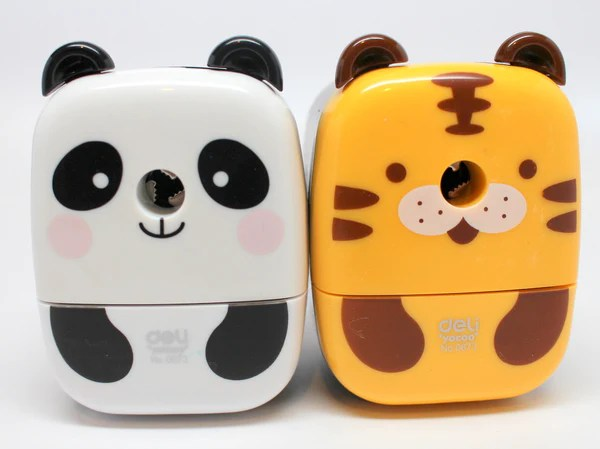 Cute Animal Pencil Sharpener  Happy Panda Shop
