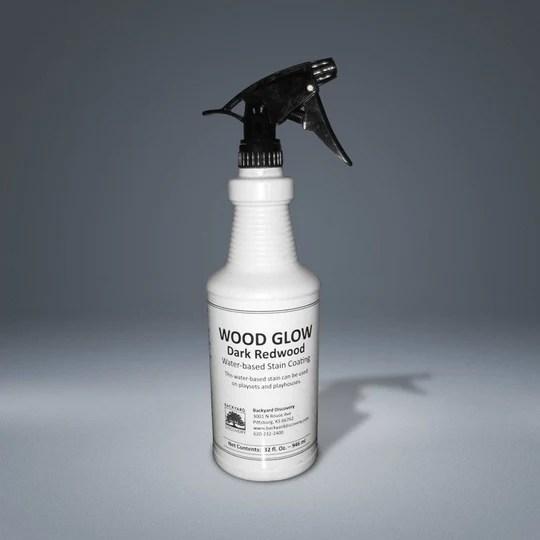 Spraying Water Based Stain