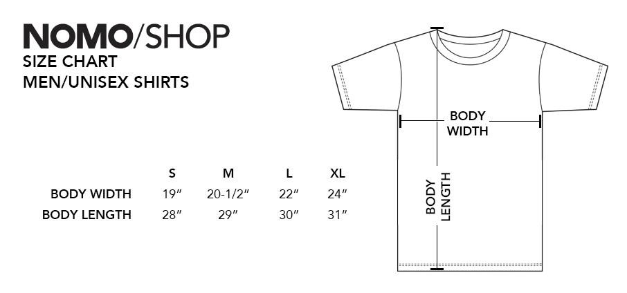 shirt size chart also ord chicago   hare international underlay code nomo design rh shopmodesign