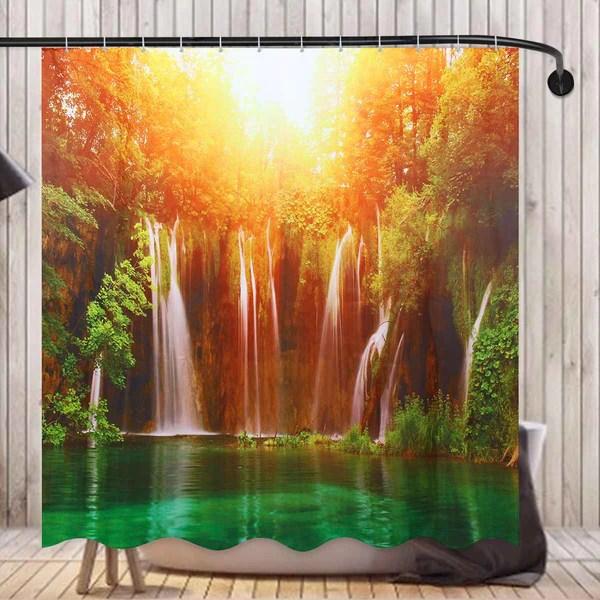 3d waterfall landscape waterproof