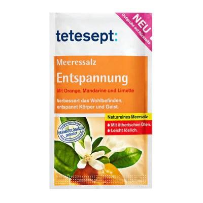 -in USA- Tetesept Bath Salt - Orange/Tangerine/Lime -