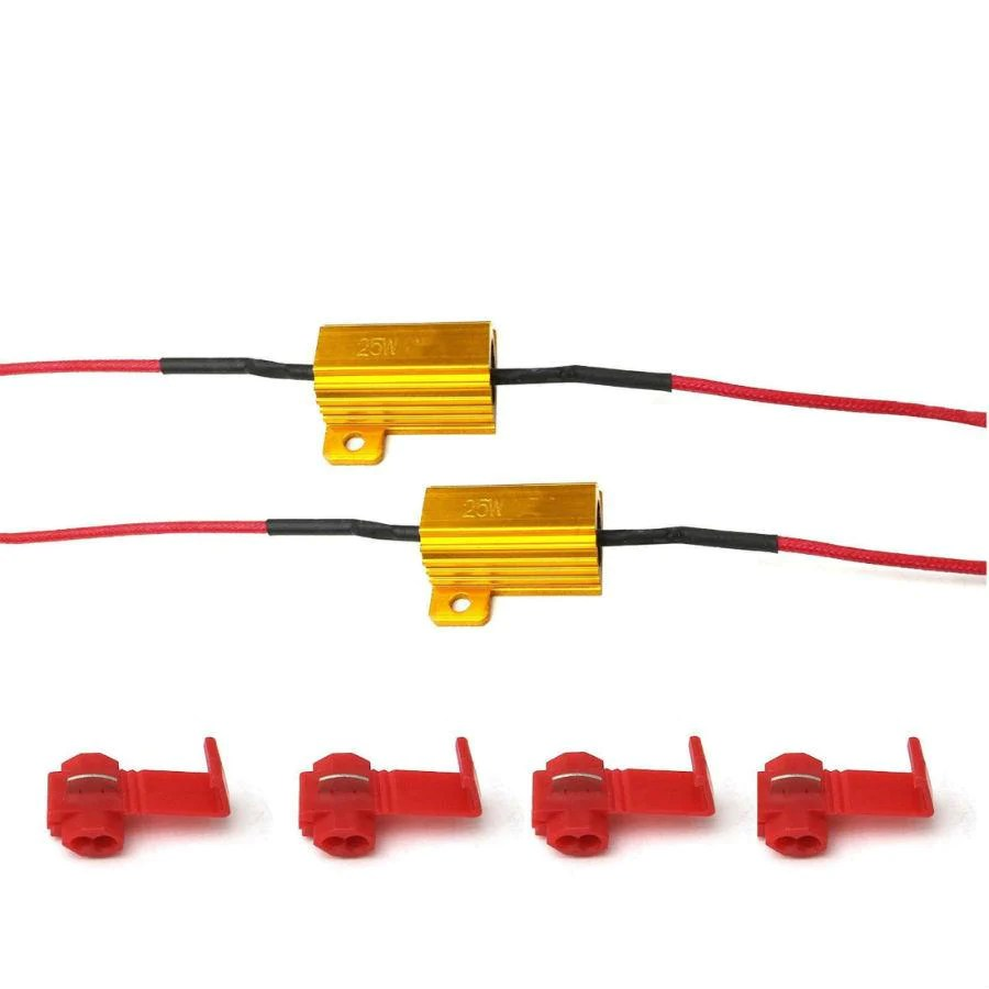 wiring diagram for motorcycle led indicators 350 oil flow how to fit fitting ld indicator resistors pair