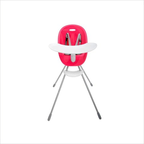 phil and teds poppy high chair dining room chairs with rollers lusso kids inc in bubblegum
