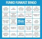 Funko Funkast BINGO Card