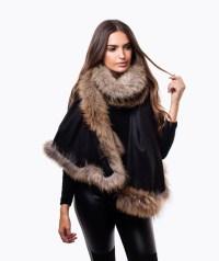 Womens Fur Capes | Luxy Accessories  Luxy London
