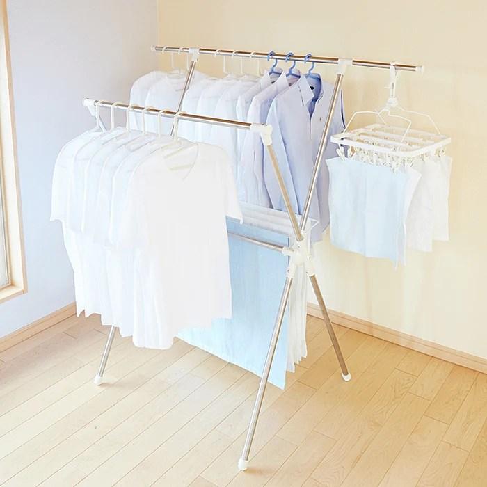 smart laundry hanger rack mc 10