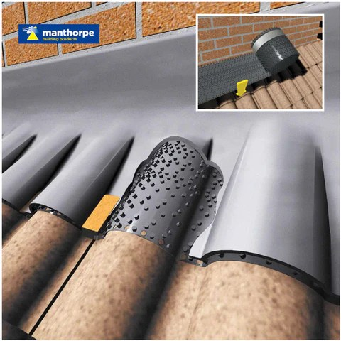 Manthorpe Flash Vent Roofing Lead Ventilation Abutment