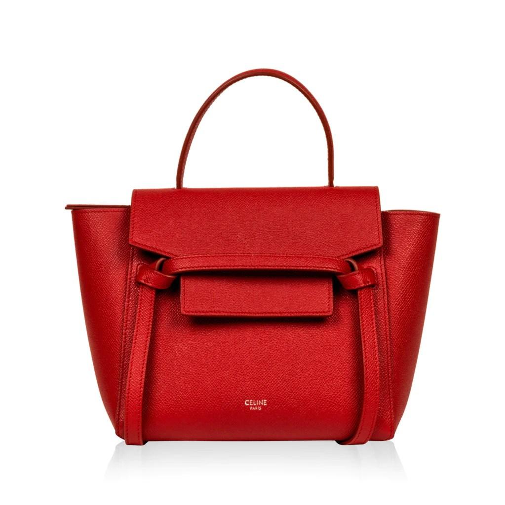 Celine - Nano Belt Bag - Red - Pre-Loved   Bagista