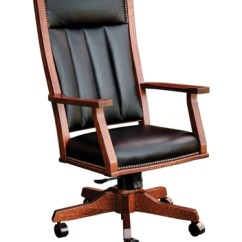 Desk Chair Made Wingback Cover Solid Hardwood Mission Homeplex Furniture Featuring Usa Wood Office Store Indianapolis Carmel Indiana