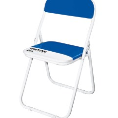 Blue Metal Folding Chairs Outdoor Wood Diy Pantone 286 Chair By Seletti Zillymonkey