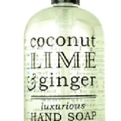 Kitchen Hand Soap White Appliance Greenwich Bay Trading Co Coconut Lime Ginger Liquid Zillymonkey