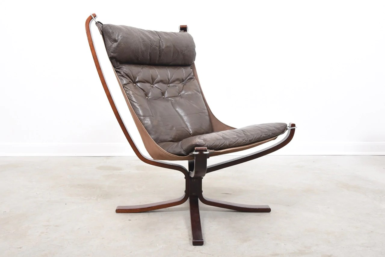 Falcon Chair High Back Falcon Chair By Sigurd Ressell