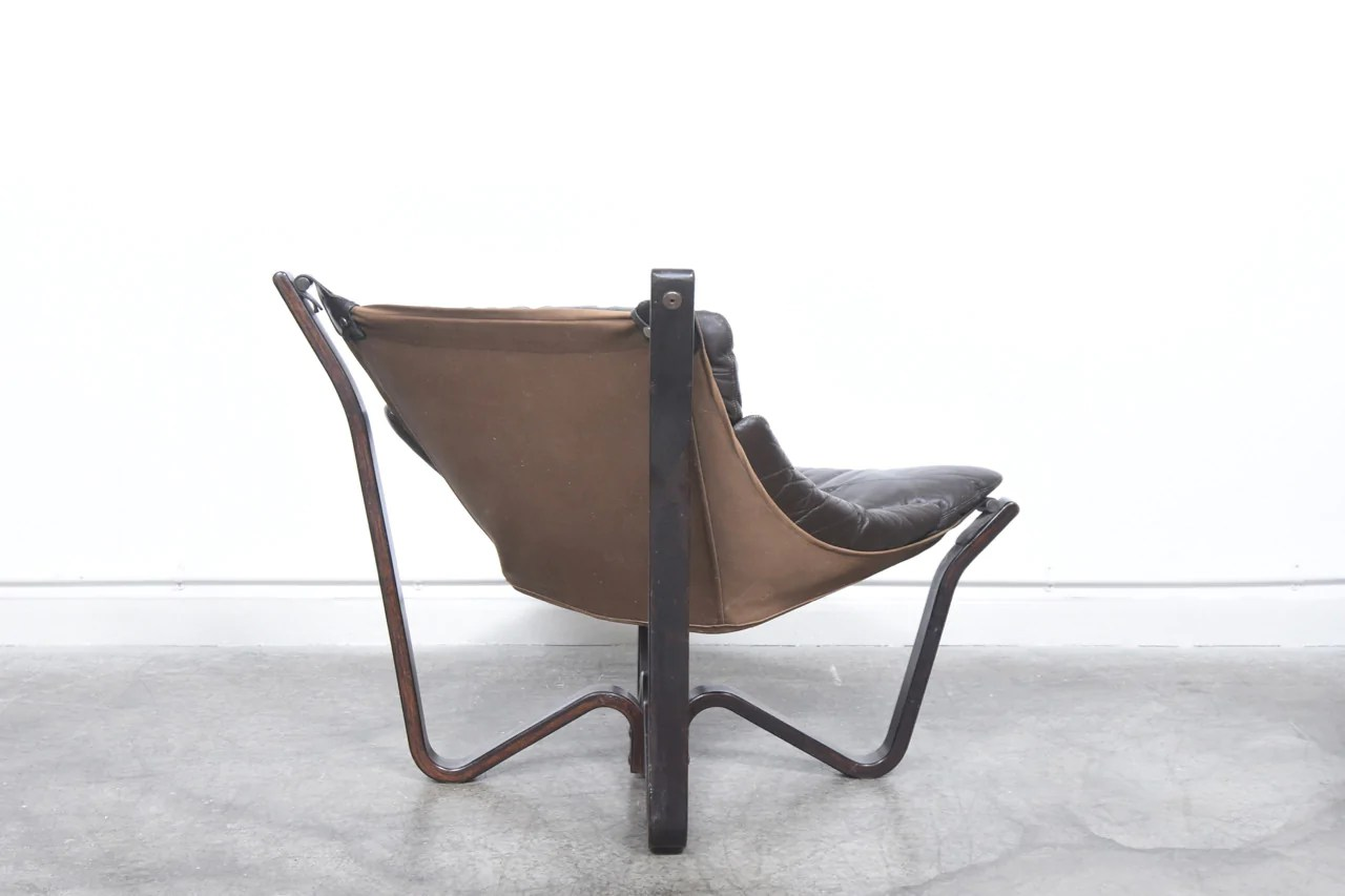 Canvas Sling Chair Leather 43 Canvas Sling Chair By Hj Brunstad Chase And Sorensen