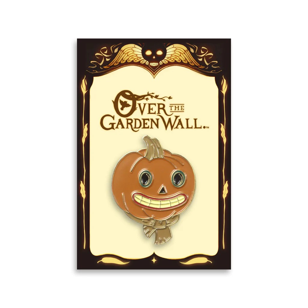 the pumpkin people enamel
